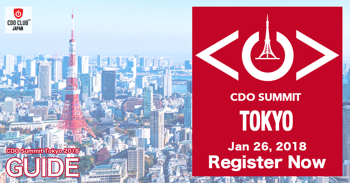 Announcement CDO Summit Tokyo 2018 | General Incorporated