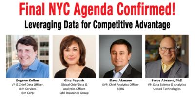 NYC Agenda Confirmed!