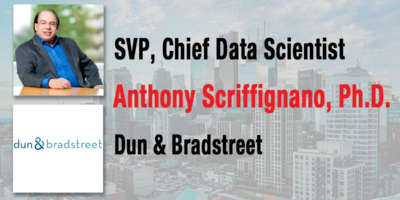 Dun & Bradstreet's Dr. Anthony Scriffignano Named U.S. Chief Data Officer of the Year 2018 by CDO Club