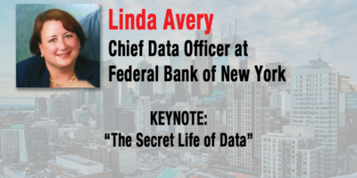 The Secret Life Of Data Linda Avery to Keynote at the NYC CDO Summit on May 8