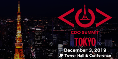 Join us at the 3rd Annual Tokyo CDO Summit on December 3, 2019!