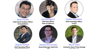 """Here is what you will learn from your peers at Cigna, Forbes, GM, IBM, Palantir, the State of CA at the August 18 IBM CDO/CTO Summit on """"Building and Creating Trust in Data"""""""